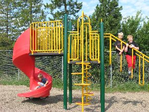 Playground with Children - Tees Playground